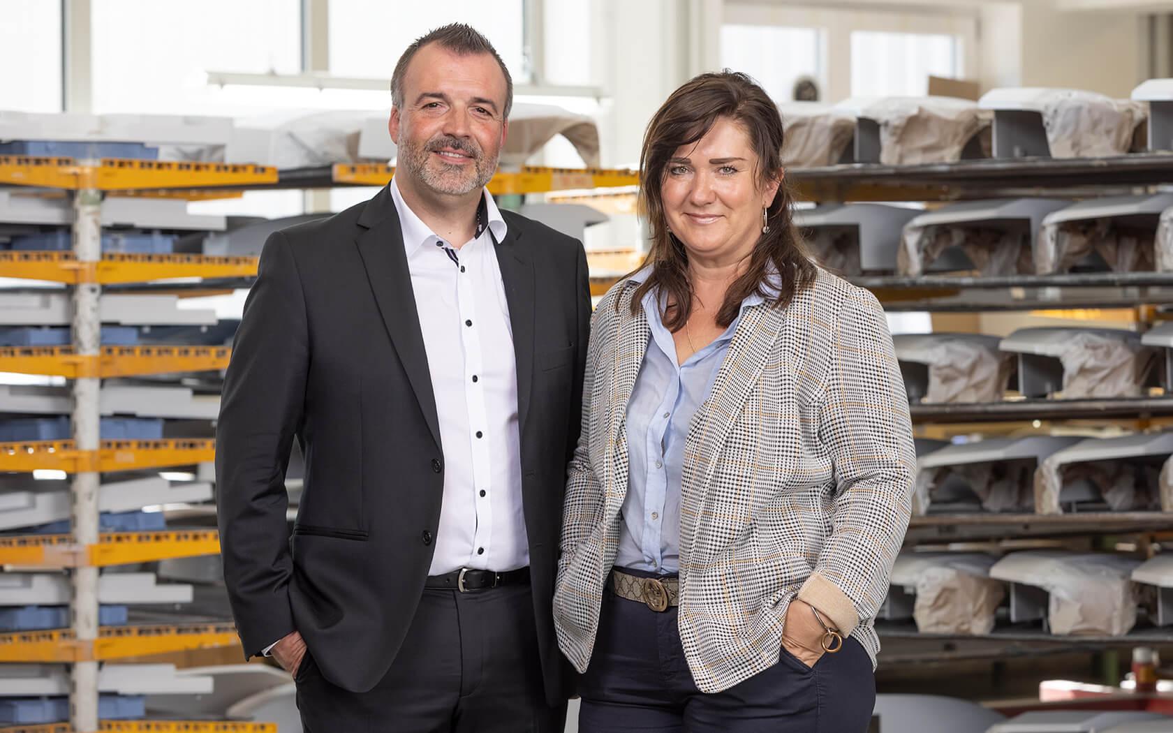 Unternehmen Vasić Industrielackierung: Zoran und Sanela Vasić
