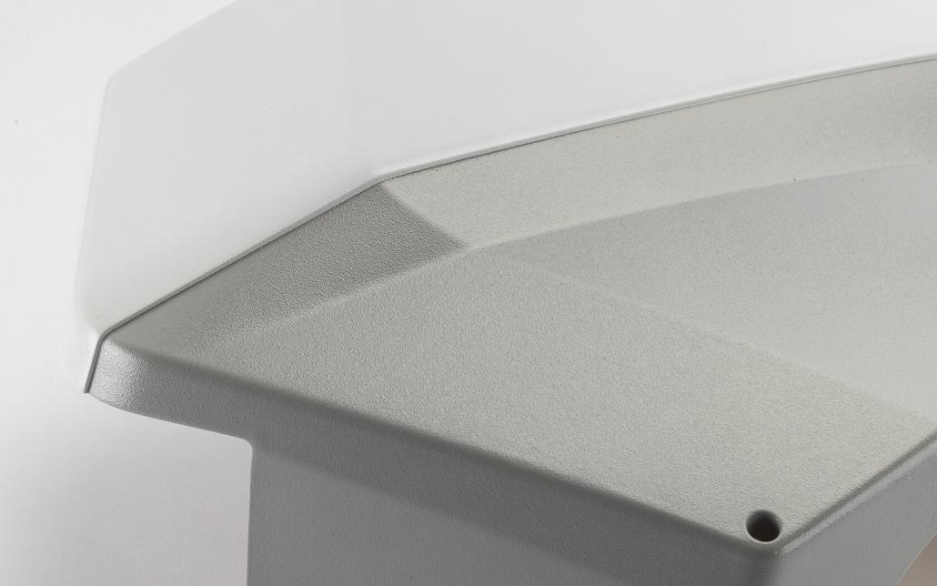 Referenzen Fried Kunststofftechnik GmbH: Zweifarbig getrennte Strukturlackierung